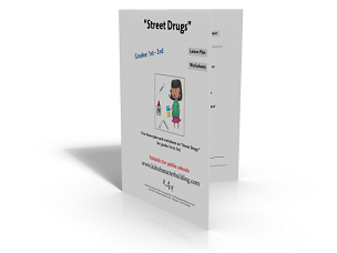 Lesson Plan and Worksheets on Street Drugs Grades 123