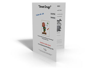 Lesson Plan and Worksheets on Street Drugs Grades 456