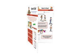 Sort it Out - Discussion Guide on Police Community Relations Grades 1-6