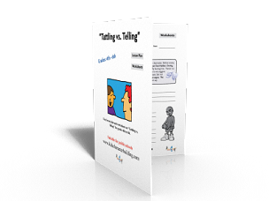 Lesson Plan on Tattling vs Telling Grades 456