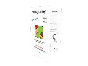 Lesson Plan on Tattling vs Telling Grades 123